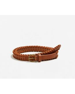 Braided Trim Belt