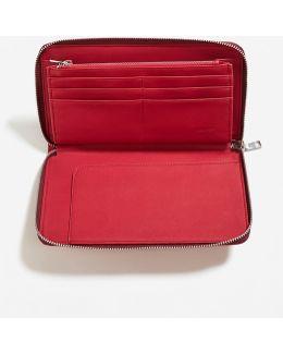 Pocket Pebbled Wallet