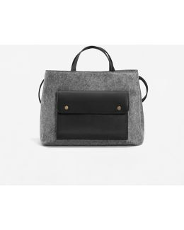 Pocketed Plush Bag