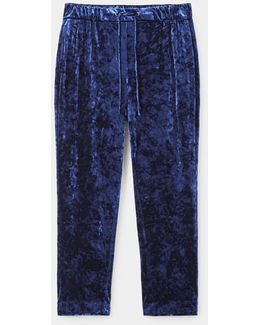Baggy Velvet Trousers