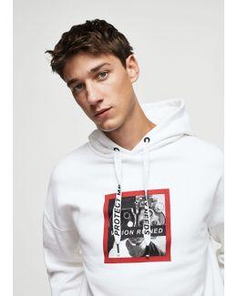 Cartoon Cotton Sweatshirt