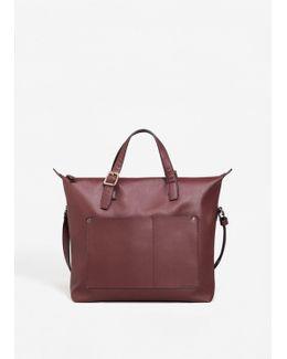 Pebbled Pocket Bag