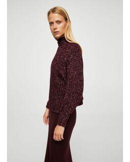 Oversize Flecked Sweater