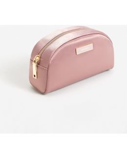 Satined Effect Cosmetic Bag