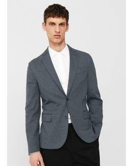 Slim-fit Unstructured Blazer