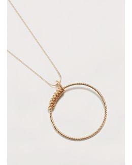 Hoop Necklace