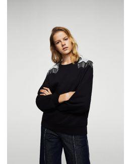 Fantasy Shoulder Sweatshirt