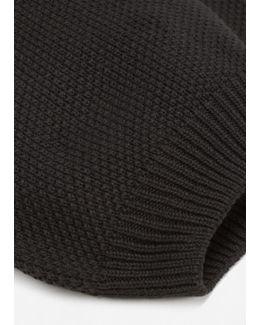 Knit Cotton Beanie