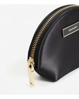 Satined Effect Purse