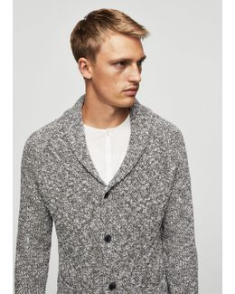 Knitted Braided Cardigan