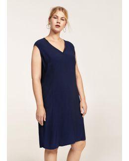 Decorative Seam Dress