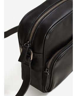 Cross-body Pebbled Bag