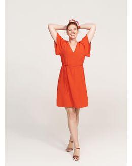 V-neckline Dress