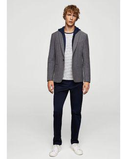 Cotton-blend Knit Sweatshirt