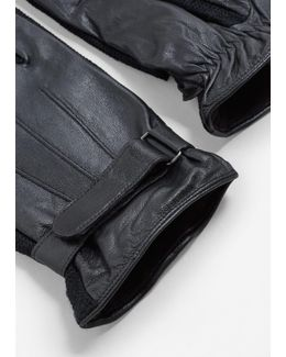 Combined Leather Glove