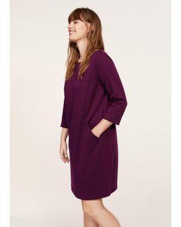 Textured Flowy Dress