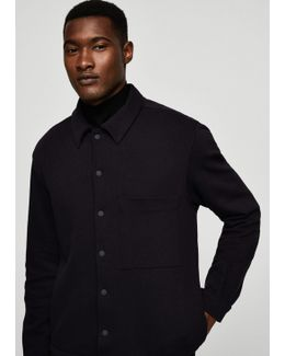 Structured Cotton-blend Jacket