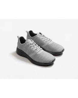 Combined Design Sneakers