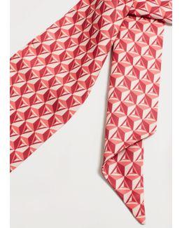 Tie Scarf Print