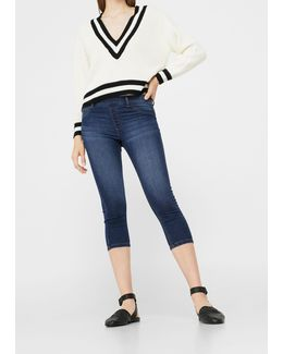 Crop Piti Jeggings