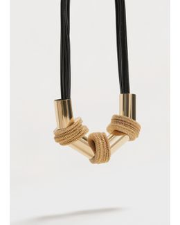 Metal Appliqués Necklace