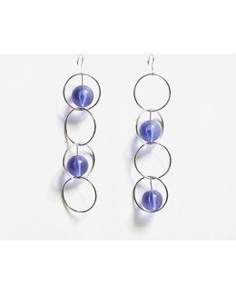 Circular Pendant Earrings