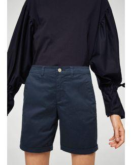 Cotton-blend Shorts