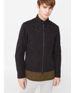 Cotton Nylon-blend Jacket
