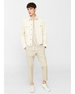 Slim-fit Linen Shirt