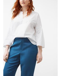 Linen Baggy Trousers