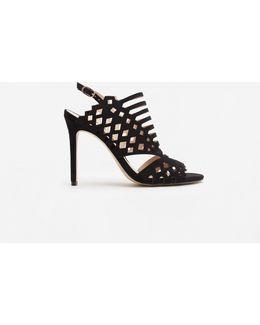 Laser-cut Design Sandals