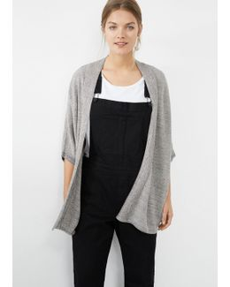 Metallic Finish Cardigan