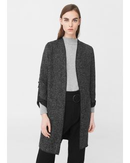 Unstructured Long Jacket