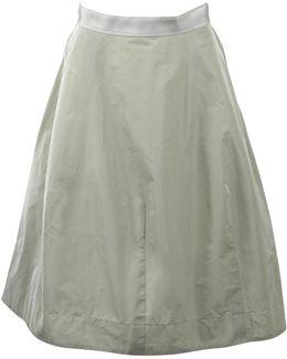 Saya Parachute Silk Skirt