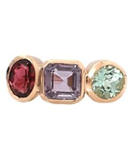 Mixed Tourmaline Ring