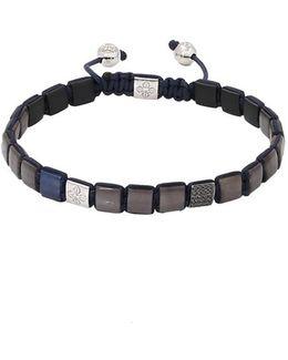 Grey Sapphire Lock Bracelet