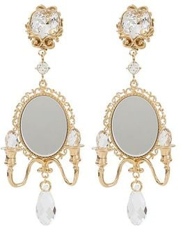 Mirror On The Wall Earrings