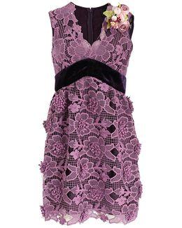 Camillia Flower Lace Dress
