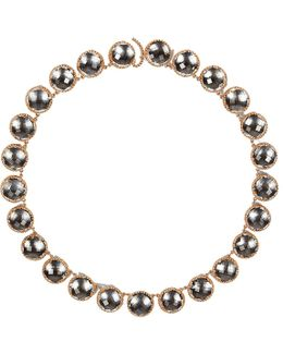 Olivia Button Riviere Necklace