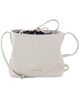 Mini Leather Bucket Shoulder Bag