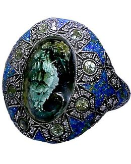 Carved Seahorse Ring