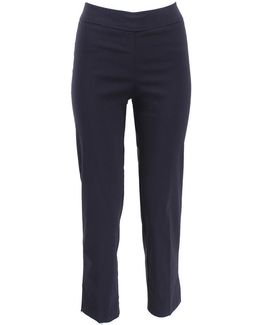 Venezia Pull-on Ankle Slit Pant