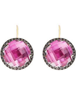 Olivia Button Earrings