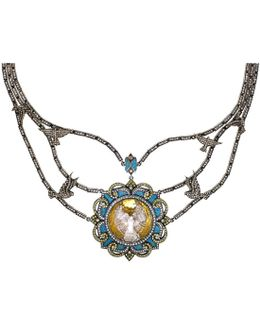 Birds In Flight Diamond Necklace