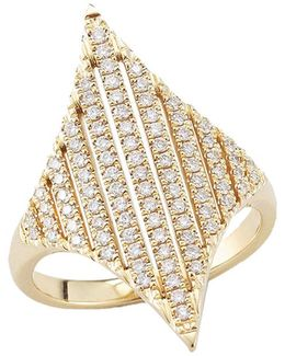 Jeb Diamond Pave Ring