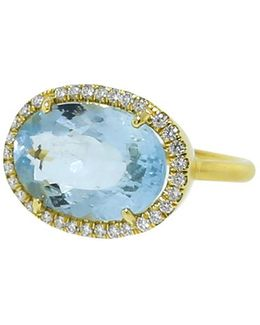 Limited Edition Fine Aquamarine Ring