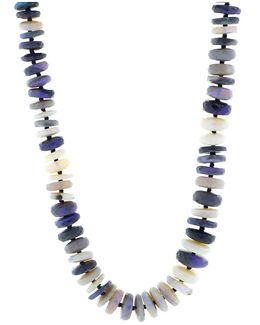 Opal Bead Necklace