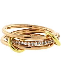 Sonny Three Link Diamond Rings