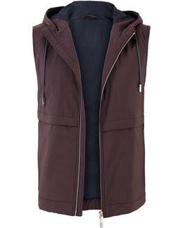 Nylon Hooded Vest