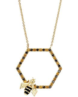 Bee In The Trap Necklace